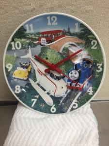 機関車トーマス絵皿時計
